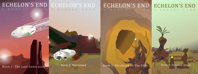 New Echelon's End book releases available on Amazon and Amazon Kindle